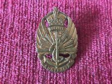 WW2 Australian Army General Service Badge Australia 1948 A26188 Amor Sydney a5