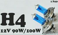 H4 100W / 90W 12V Xenon White 6000k Halogen Car Head Light Globes Bulbs Lamp LED