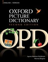 Oxford Picture Dictionary : English/ Korean, Paperback by Adelson-Goldstein, ...