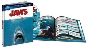 JAWS (2012: BLU-RAY + DIGITAL + BOOK) 100TH ANNIVERSARY EDITION - NEW/SEALED -RB