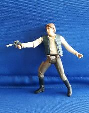 Star Wars Han Solo Smuggler figure w) weapon loose POTF