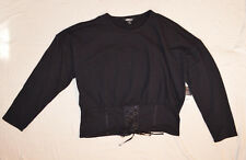 project runway black shirt Top Long sleeve size 2XL XXL