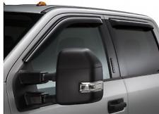 VFL3Z-18246-J Side Window Deflectors - Smoke, Crew Cab 2017-2020 FORD SUPER DUTY