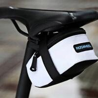 ROSWHEEL CYCLING BIKE WATERPROOF SADDLE BAG WEDGE REAR SEAT BICYCLE MTB ROAD