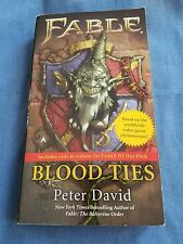 Blood Ties 2 by Peter David - 2011, Paperback, Fable Novel, Video Game, Suspense