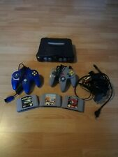Nintendo N64 incl. 2 Controller, alle Kabel, Spiele: Wipeout 64, Star Wars EP. 1