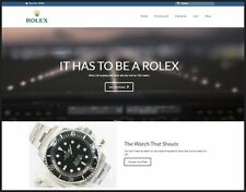 USA - ROLEX WATCH Website|FREE Domain|Make££$$$|100% GUARANTEED or Pay NOTHING!