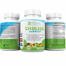 #1 Recommended Cholesterol Reduction Complex Supplement Heart Health 60 Capsules