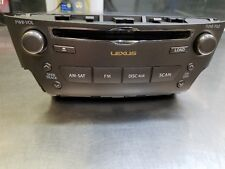 OEM LEXUS IS250 IS350 06-13 RADIO AUDIO STEREO DECK SATELLITE RECEIVER 6 CD 4L