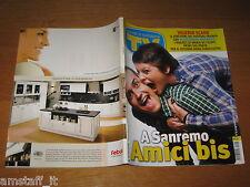 TV SORRISI E CANZONI=2010/9=VALERIO SCANU=ALESSANDRA AMOROSO=FESTIVAL SANREMO=