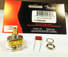Genuine Fender 250K Pot Solid Shaft CTS Volume/Tone Guitar Control Potentiometer
