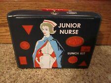 Excellent 1963 Junior Nurse Lunch Kit Vinyl Box!!!!