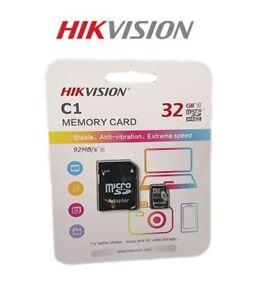 MICRO SD 32GB HIKVISION CON ADATTATORE