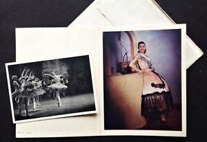 MARGOT FONTEYN. VINTAGE 1940's CARD & REAL PHOTO PC. SADLER'S WELLS BALLET. RARE