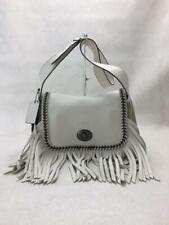 COACH Dakota Leather 33939 Leather White Fashion shoulder bag 15485 From Japan