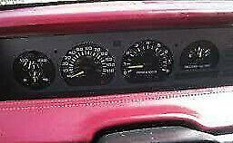 CHEVROLET LUMINA: 1990, 1991, 1992, 1993, 1994, Speedometer - Cluster, W/Tach