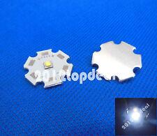 5PCS Cree XLamp XPG2 XP-G2 Cool White 6000K LED Light 1W~5W on 20mm Star base