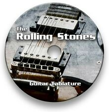 The Rolling Stones Rock Guitar Tabs Tablature Lesson Software CD - Guitar Pro