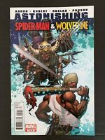 ASTONISHING  SPIDER-MAN AND WOLVERINE #5 MARVEL COMICS 2011 VF