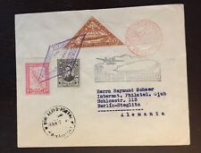 1932 Paraguay Stieglitz Register Zeppelin Cover 3rd Flight AAMC Z182E - Berlin