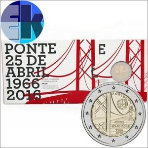 Ek // 2 euro BE Portugal 2016 50 ans du Pont du 25 Avril : Nouveau