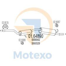 MTS 01.64890 Exhaust INNOCENTI Mille 1.0ie Clip Super 48bhp 01/95 - 12/97