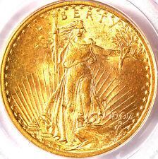 1907 $20 Saint MS63 PCGS-ST. GAUDENS