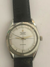 Universal Geneve Polerouter Automatic Vintage Wristwatch  works well  TOP END