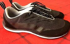 L.L Bean Women Size 7 Medium Grey/Black Athletic Walking Fitness Snicker Shoes