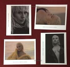 Christina Aguilera Liberation 2018 Taiwan Promo 4 Photo Card (Photocard)
