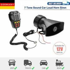 100W 12V Autosirene PA Lautsprecher 7 Laut Laut Autoalarm Polizei Horn Sirene