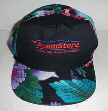 Vintage Roomstore Furniture Accessories Store Hawaiian Print Baseball Hat Cap