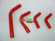 for 2004-2009 Honda CRF250 CRF250X CRF250R silicone radiator hose red