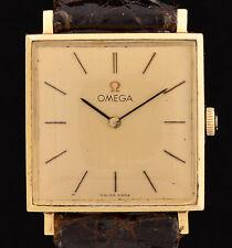 Omega 14K Yellow Gold Wrist Watch Mechanical Winding Cal. 625 - not running