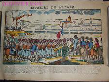 BATAILLE DE LUTZEN - IMAGE D'EPINAL PELLERIN - NAPOLEON