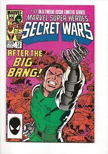 Marvel Super Heroes Secret Wars #12  She-hulk Joins the Fantastic Four