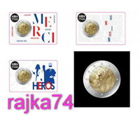 Frankreich - 2 Euro 2020 - Medizinische Forschung - Coincard - nur 300.000 ! VVK
