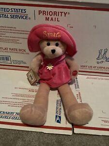 "Chantilly Lane 17"" Connie girl ""Smile"" Bear 2008 Singing Bear"