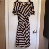 Diane Von Furstenberg size 12 silk wrap dress