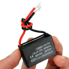 2PCS 450V 1.5uF CBB61 Condensatore terminale per ventilatore a soffitto