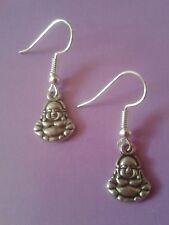 Buddha/Tibetan silver/silver plated earrings