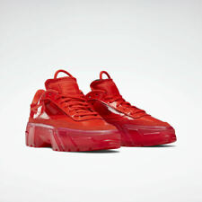 Reebok Cardi B Club C Triple Instinct Red Clear FZ4932 Women's Size 6-11 Limited