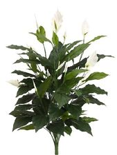 "TWO 42.5"" Spathiphyllum Plant Silk Plants Artificial Tree Bush Fake Decor 527"