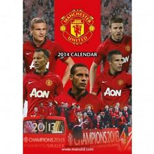 Manchester United FC 2014 Calendar English Premier League MAN U Red Devils new