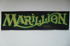 Marillion 1990 logo patch Sew On patch music superstrip LAST ONES