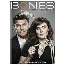 Bones: The Complete Eighth Season (DVD, 2013, 6-Disc Set)