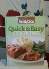 Family Circle Quick & Easy Cooking Volume 2 year 2009 Hardcover English