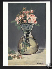 EDOUARD MANET Moss Roses in a Vase (1882) ART ARTWORK PAINTING MODERN POSTCARD