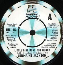 """JERMAINE JACKSON little girl don't you worry/we can put it back together 7"""" WS"""