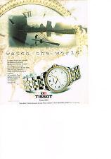 PUBLICITE ADVERTISING  1995   TISSOT  montre BALLADE